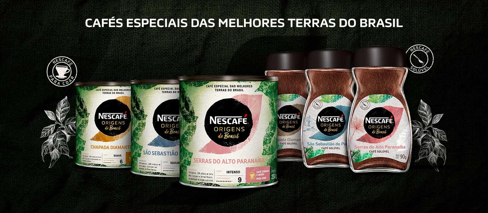 Nescafé Origens do Brasil