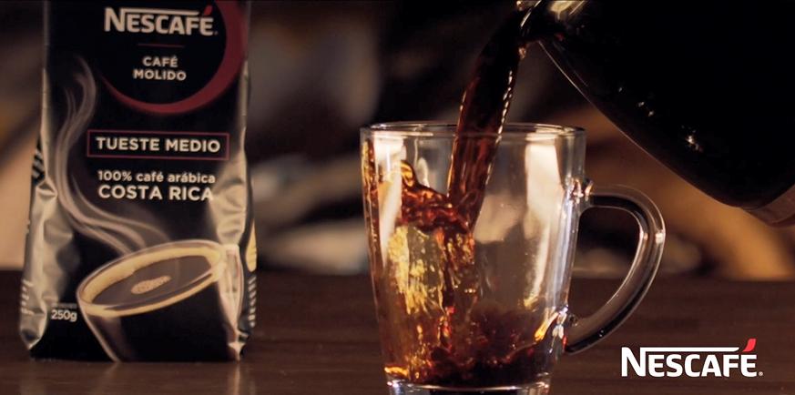 Bolsa de café molido tueste medio arábica Nescafé