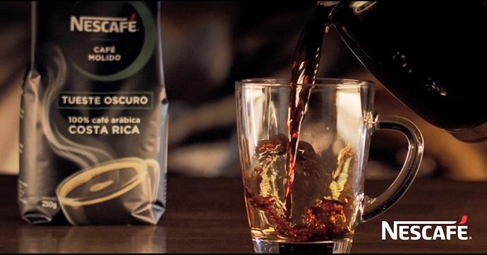 Café molido tueste oscuro arábica de Nescafé