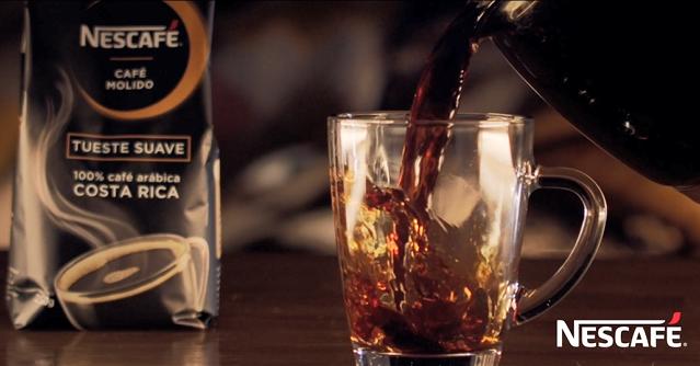 Bolsa de café molido tueste suave arábica Nescafé