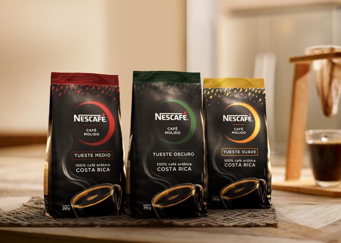 Presentaciones de café molido Nescafé