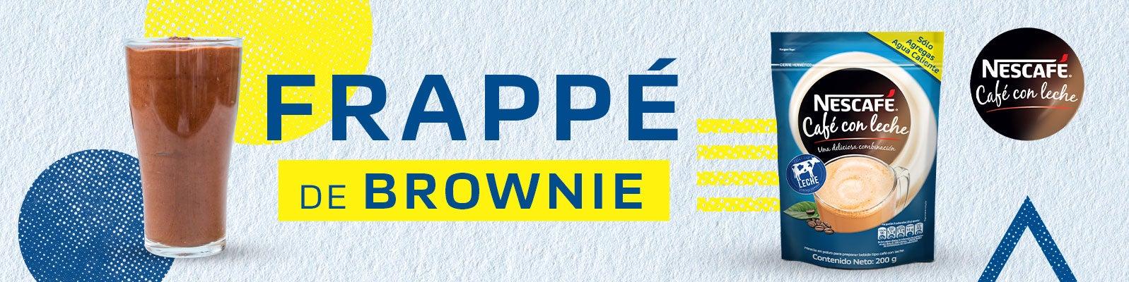 FRAPPÉ DE BROWNIE