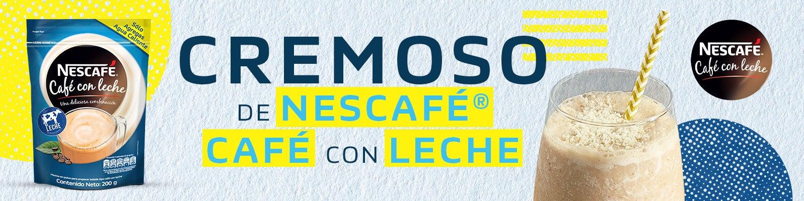 CREMOSO DE NESCAFÉ® CAFÉ CON LECHE