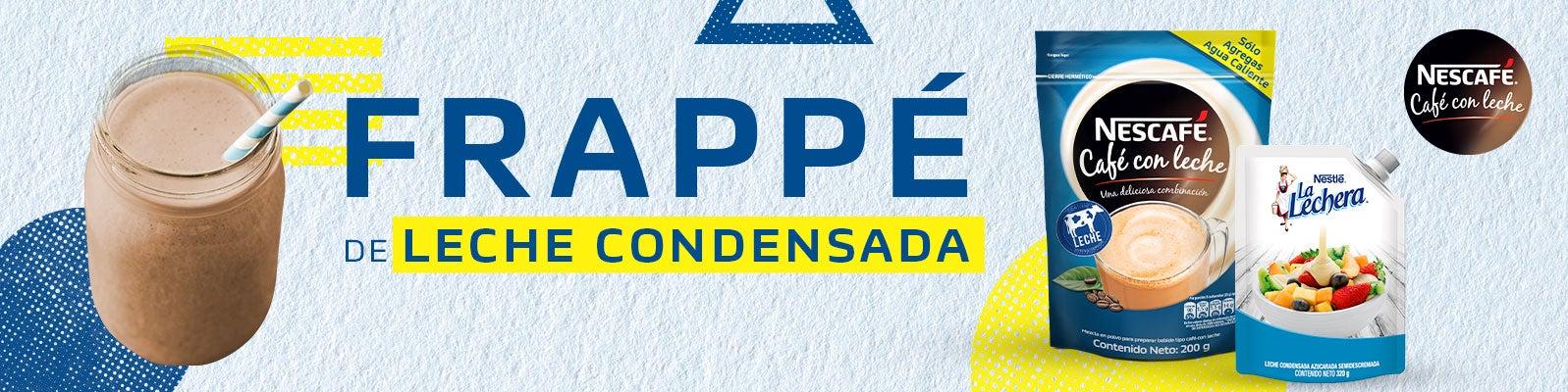 FRAPPÉ DE LECHE CONDENSADA