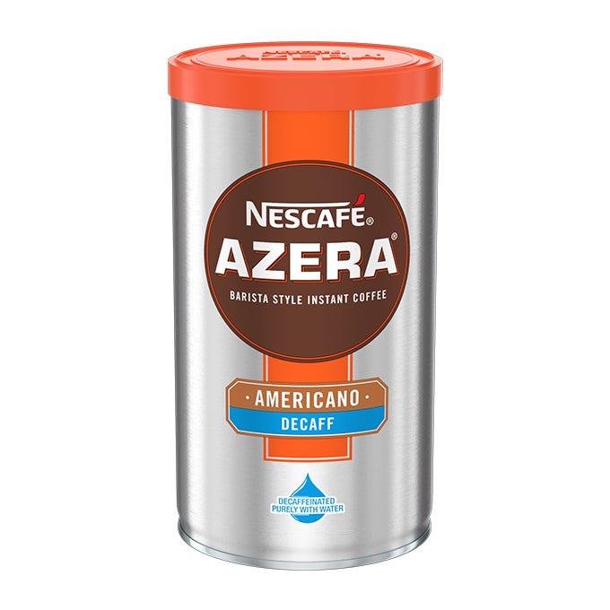 The first Nescafé Azera Americano Decaff instant coffee