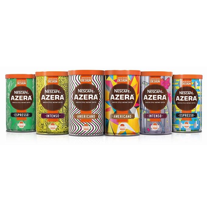 The first Nescafé Azera limited edition tins