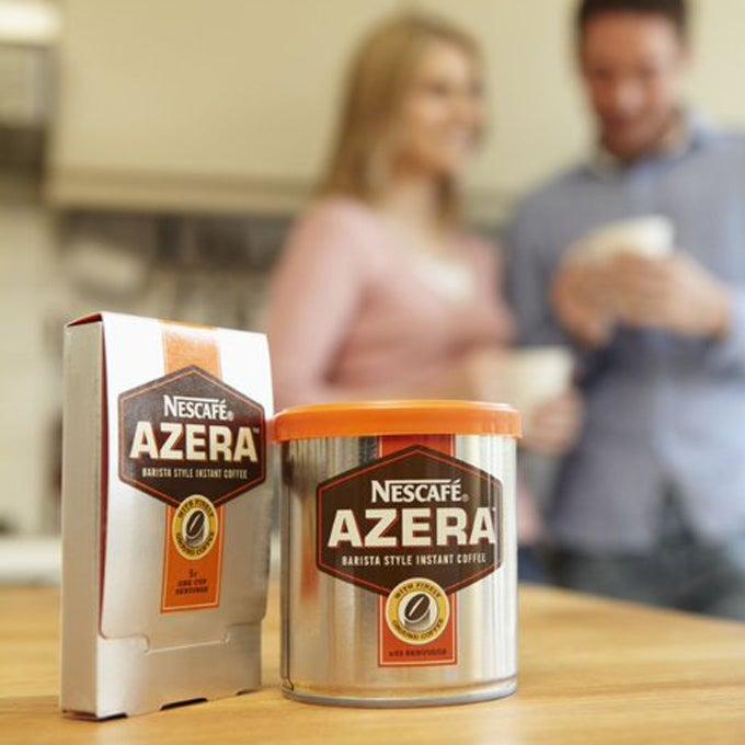 The very first Nescafé Azera coffee products