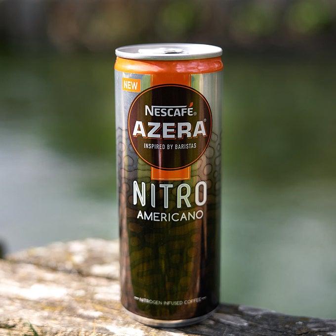 The first Nescafé Azera nitro can