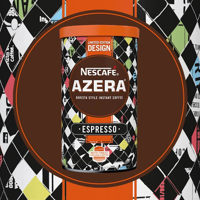 2016 Nescafé Azera By Design packaging called Hustle and Bustle