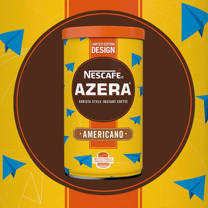 2016 Nescafé Azera By Design packaging called Paper Planes