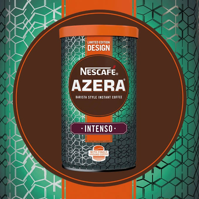 2016 Nescafé Azera By Design packaging called Particles