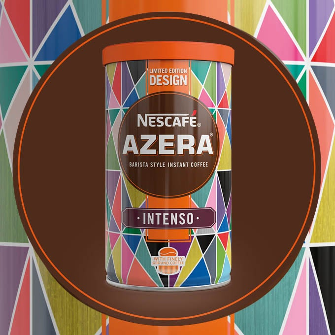 2018 Nescafé Azera By Design packaging called Colourful Path