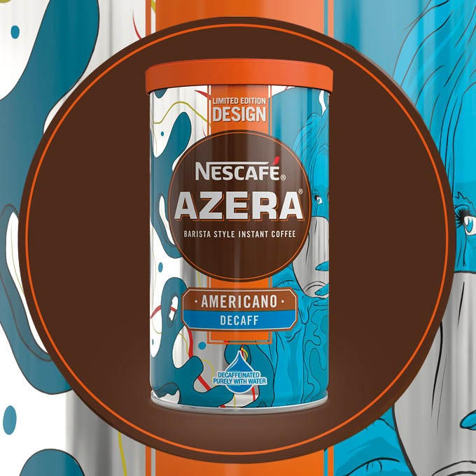2018 Nescafé Azera By Design packaging called Thinking Out Loud
