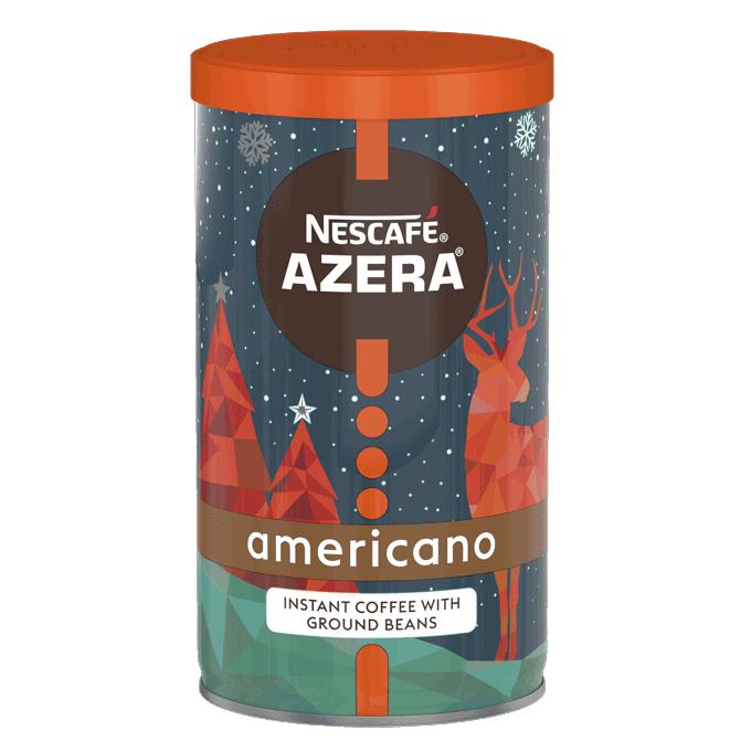 Nescafé Azera seasonal tin design