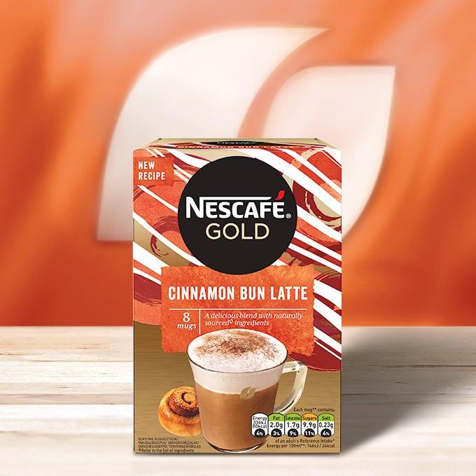 Nescafé Cinnamon Bun Latte box