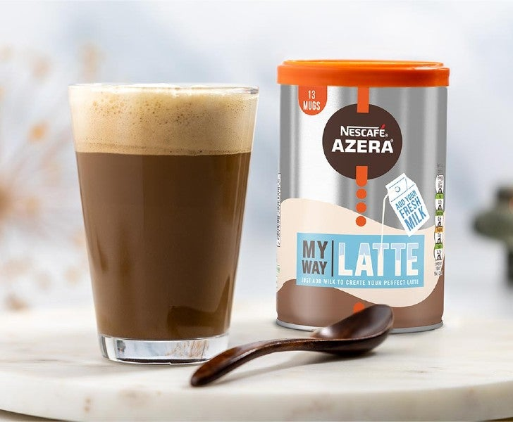 Nescafé Azera My Way Latte coffee