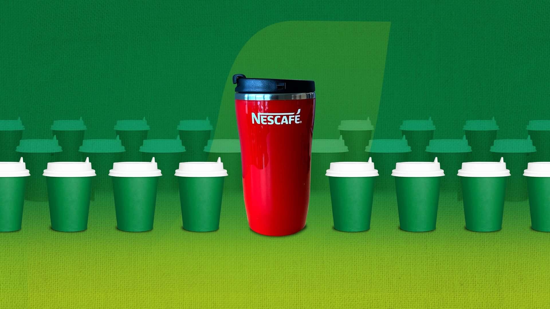 Nescafe travel mug sustainability