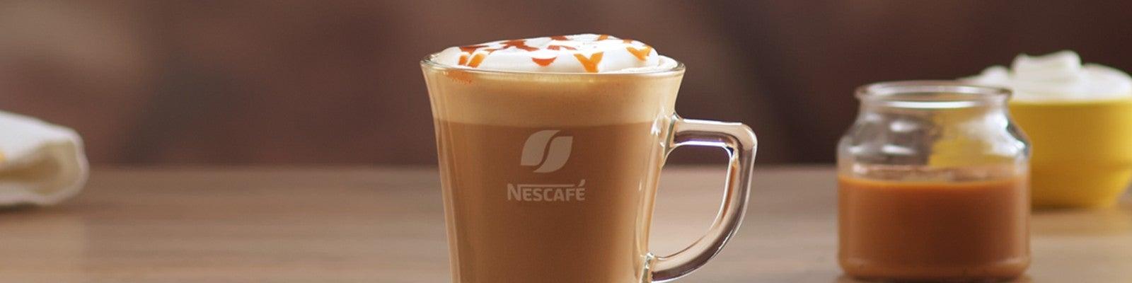 Caramel Latte Recipe Header