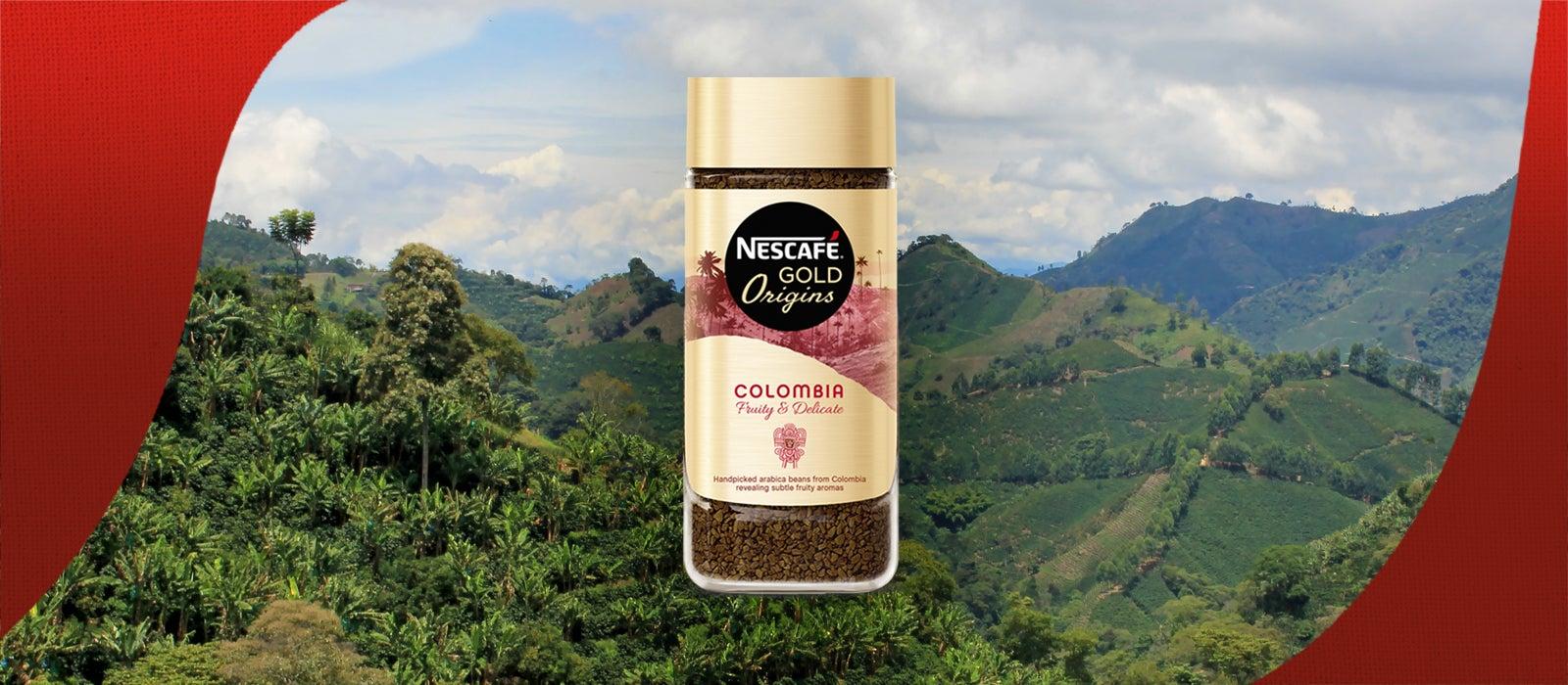 Nescafe Gold Origins jar
