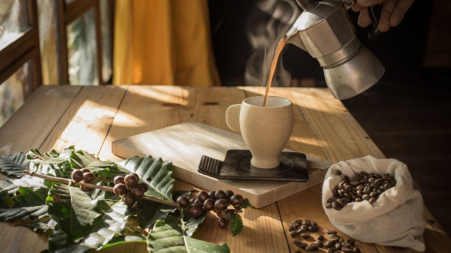 Caffe - traditional Italian coffee