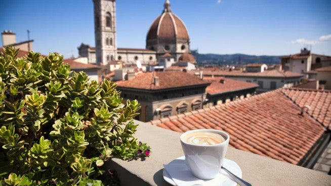 Cappuccino - traditional Italian coffee