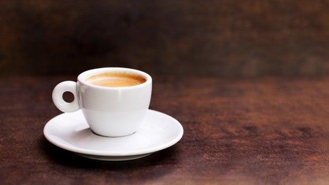 Doppio - traditional Italian coffee