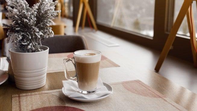 Latte - traditional Italian coffee