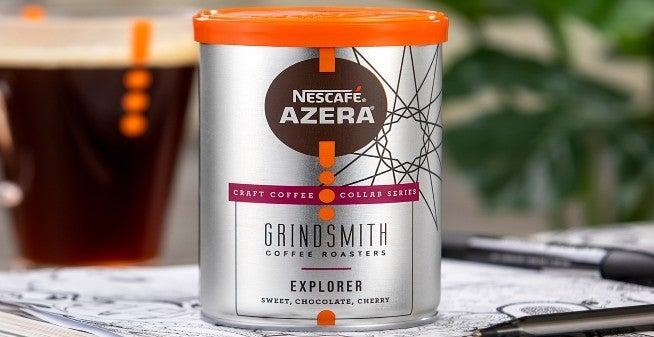 NESCAFÉ Azera Craft Coffee tin