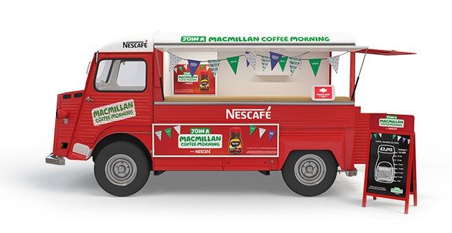 Nescafe Coffee Morning Van Desktop