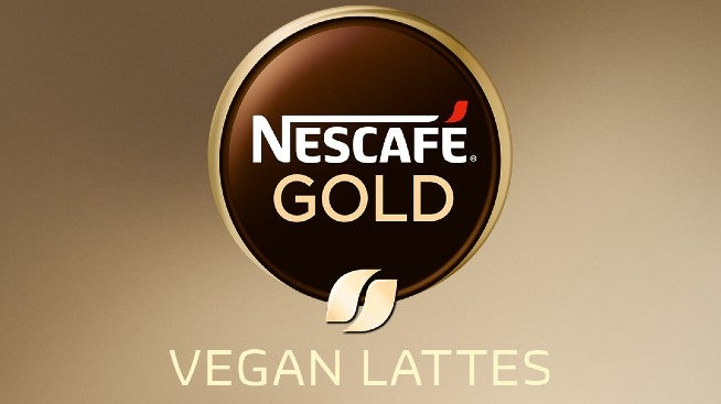 Nescafe Gold Vegan Lattes Logo