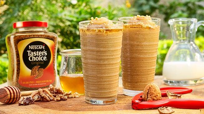 NESCAFÉ שייק אייס קפה, תמרים ודבש