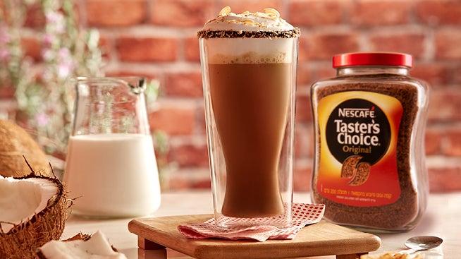 NESCAFÉ קפה לאטה קוקוס