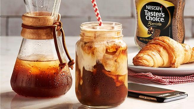 קפה NESCAFÉ קר ומרענן