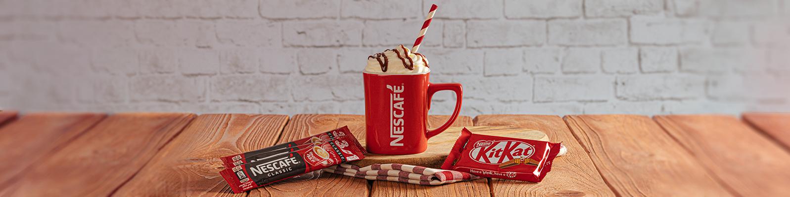 Kitkat Coffee shake