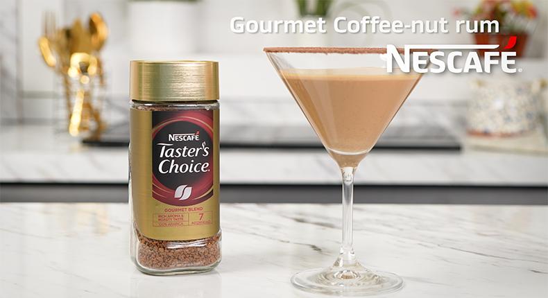 Coffee nut rum