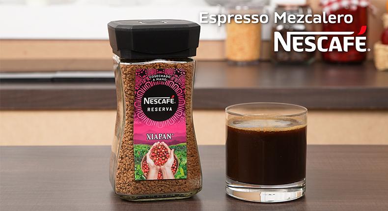 Espresso mezcalero