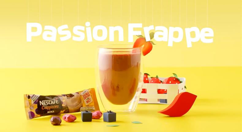passion frappe