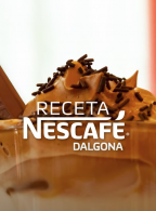 Preparación de receta NESCAFÉ Dalgona