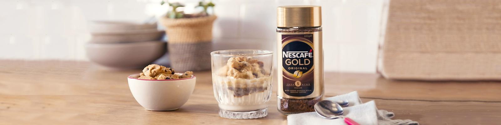 NESCAFE Gold Affogato Iced Coffee Recipe