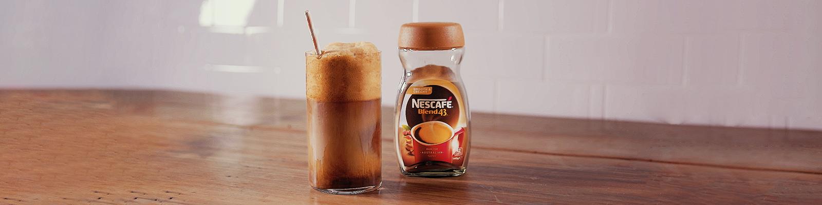 NESCAFE Frappe Greek Iced Coffee Recipe