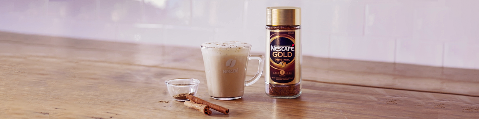 NESCAFE Gold Pumpkin Spice Latte instant Coffee recipe