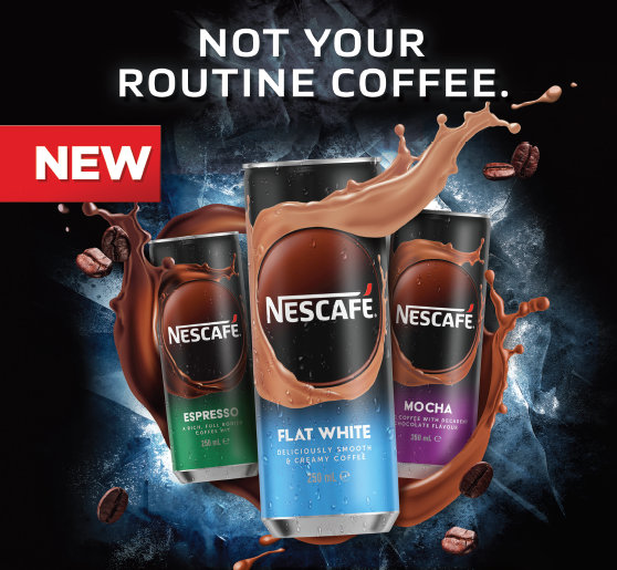 Nescafe RTD Cans