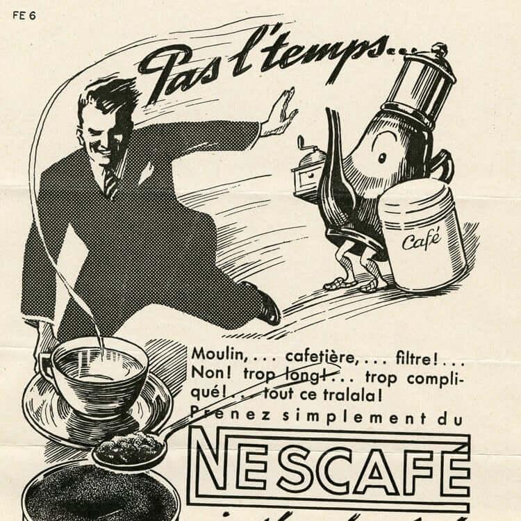 Nescafe poster