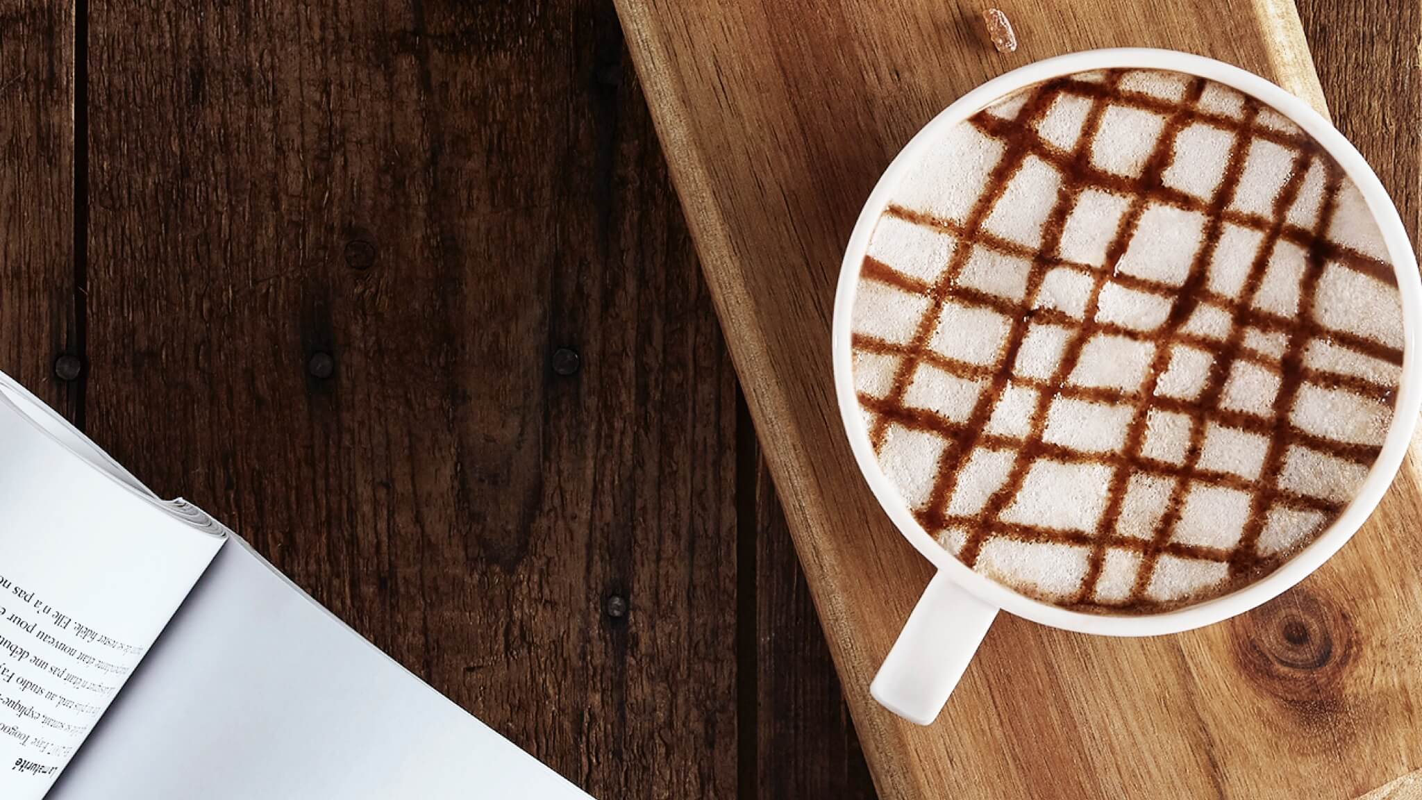 I like my coffee frothy & milky