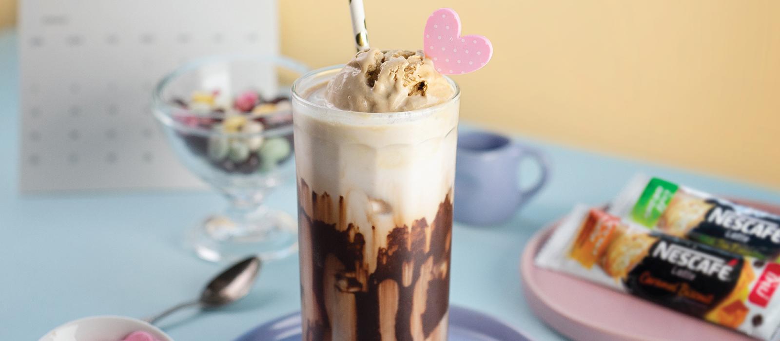 NESCAFE Latte Milkshake