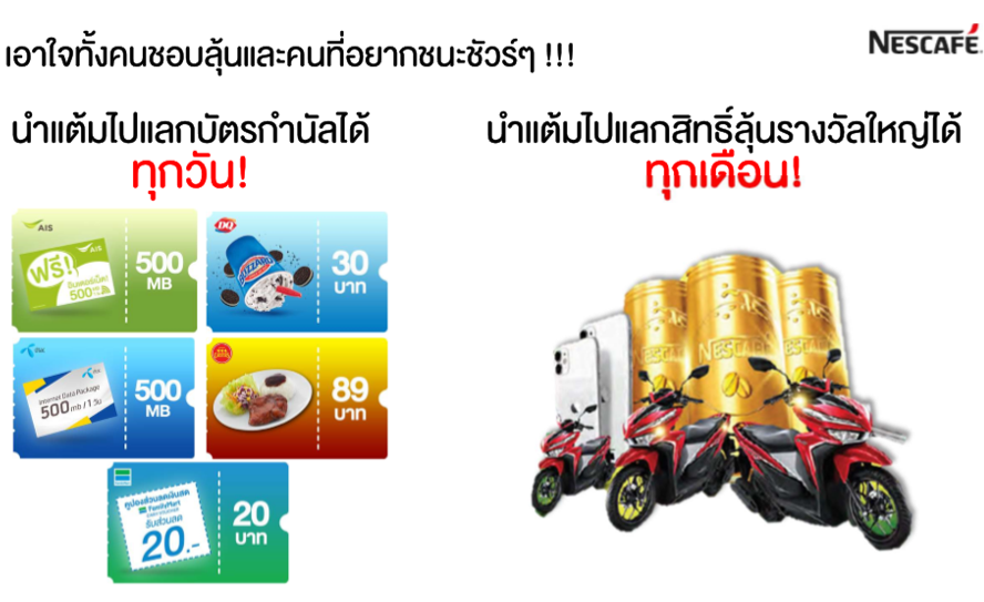 RTD lucky draw campaign Steps