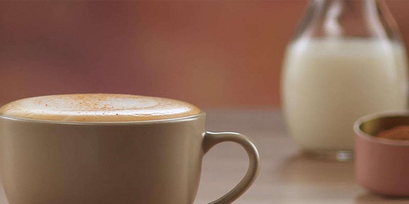 shaken cappuccino