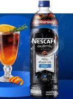 NESCAFE Americano Yuzu Orange