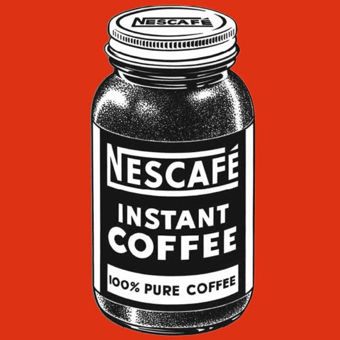 Перша банка кави Нескафе