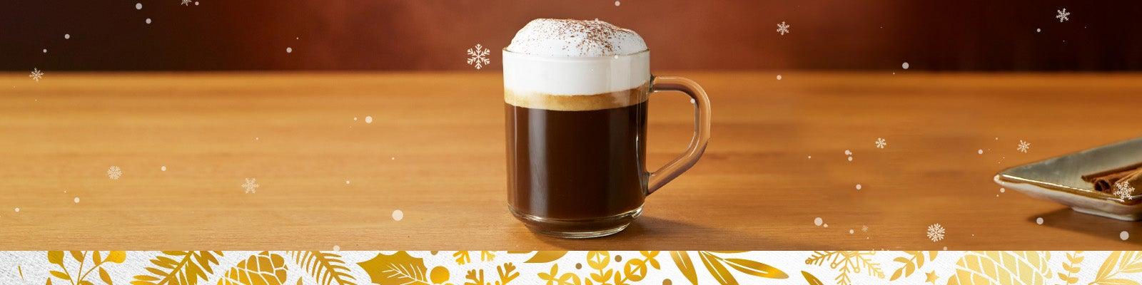 Кава з пряною корицею